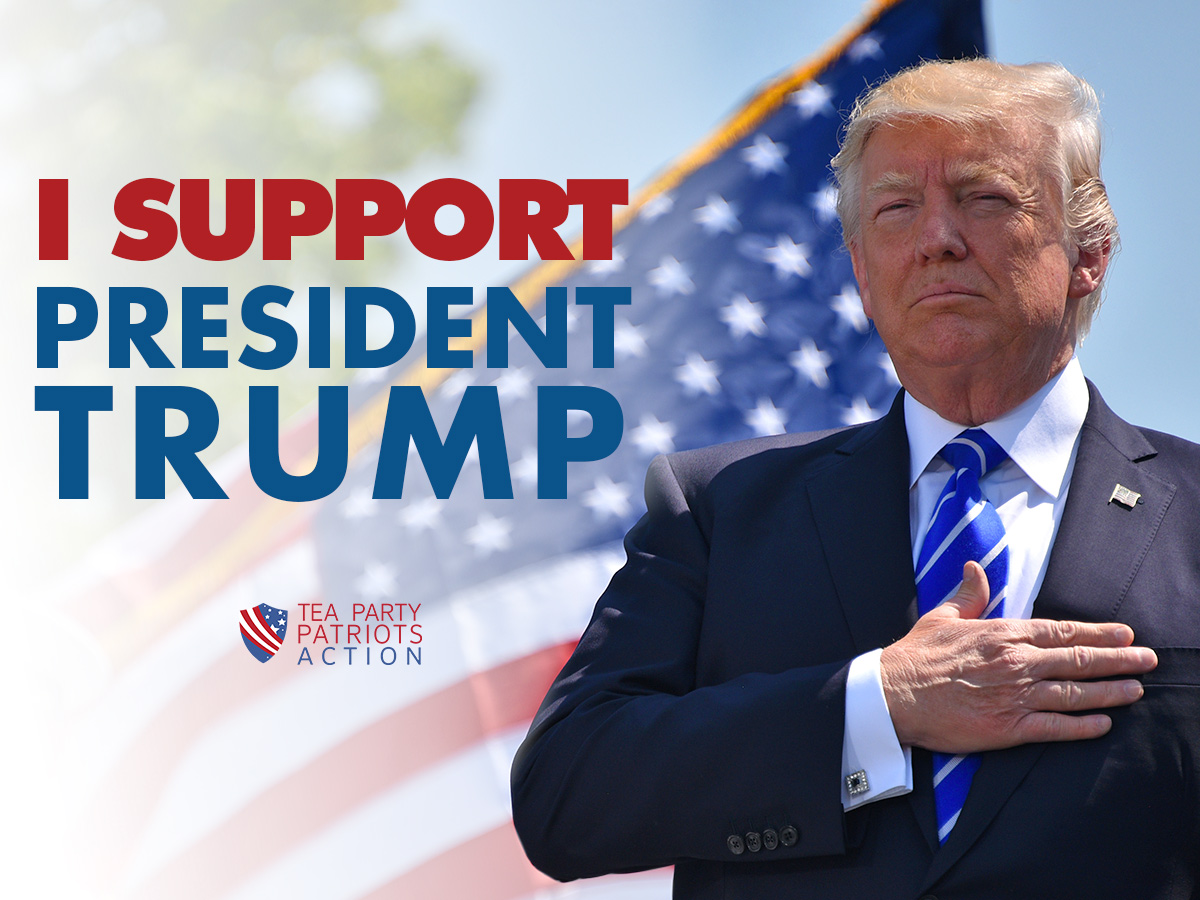 Call your Representative and Senators and tell them you support President Trump.